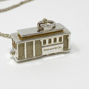 Tiffany & Co. Silver Trolly Necklace